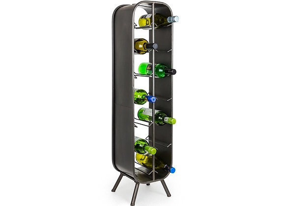 14 Bottle Metal Wine Rack
