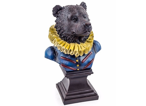 Fun Large Regal Bear Bust