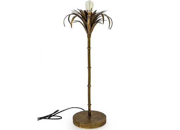 Iron Palm Tree Table Lamp