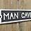 "Thumbnail: Cast Iron Humour ""Man Cave"" Sign"