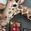 Thumbnail: Fantastic, Quirky Life Size Giraffe Wall Figure
