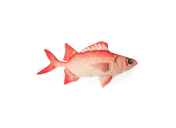 Red/Pink Fish Cushion