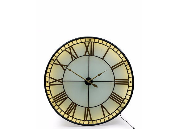 Extra Large Back Lit Wall Clock