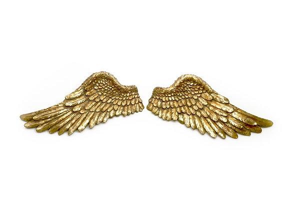 Set Of 2 Golden Wings