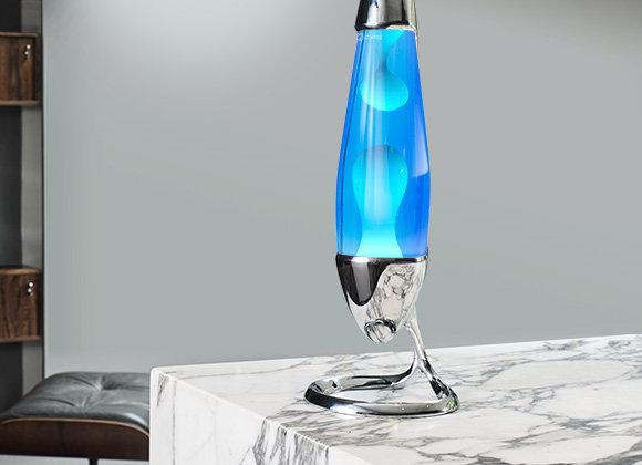 Mathmos Neo Lava Lamp: Silver