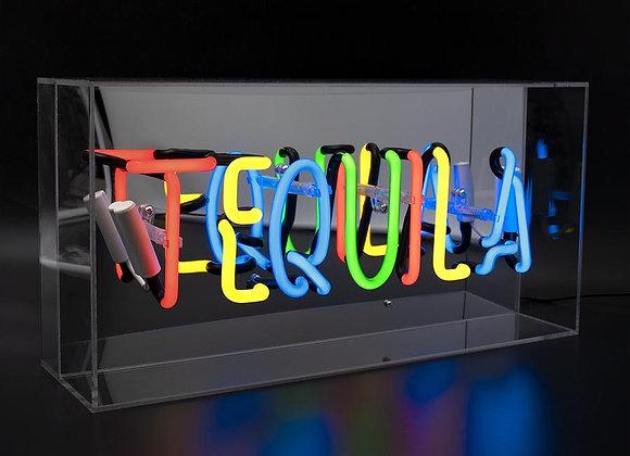 Neon Acrylic Box Light (Tequila)