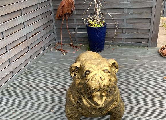 Larger Than Life GOLD Bulldog