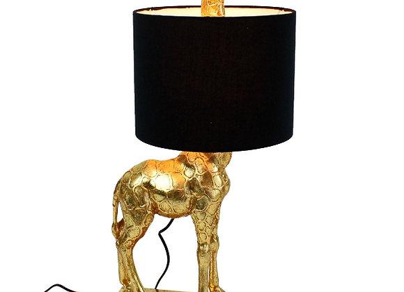 Funky Gold Giraffe Table Lamp