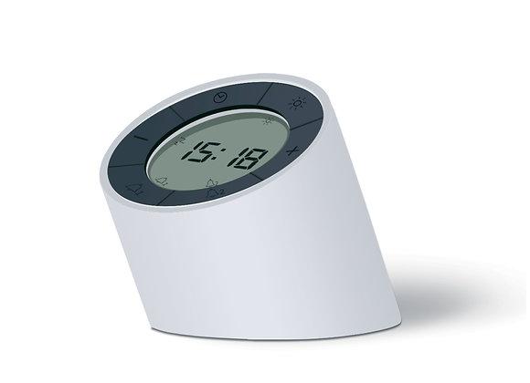 Edge Light Alarm Clock (White)