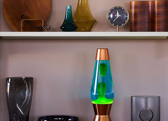 Mathmos Astro Lava Lamp: Copper