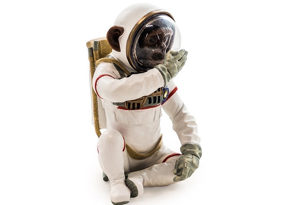 Fun Speak No Evil Astronaut Chimp Figure