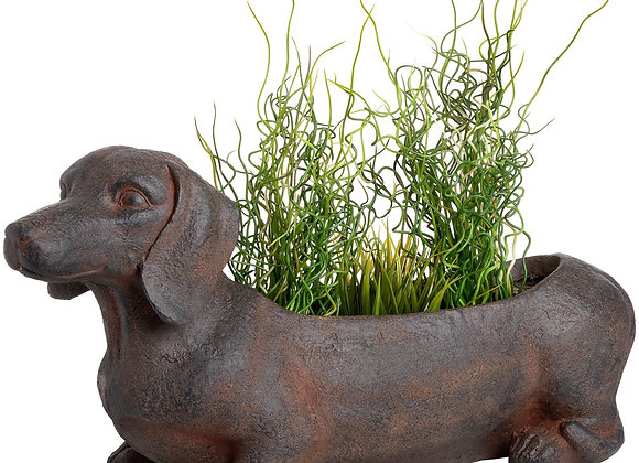 Quirky Sausage Dog Planter