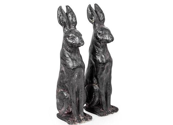 Pair Of Rabbit Figures