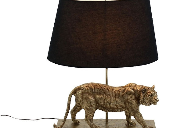 Stunning Gold Effect Tiger Table Lamp
