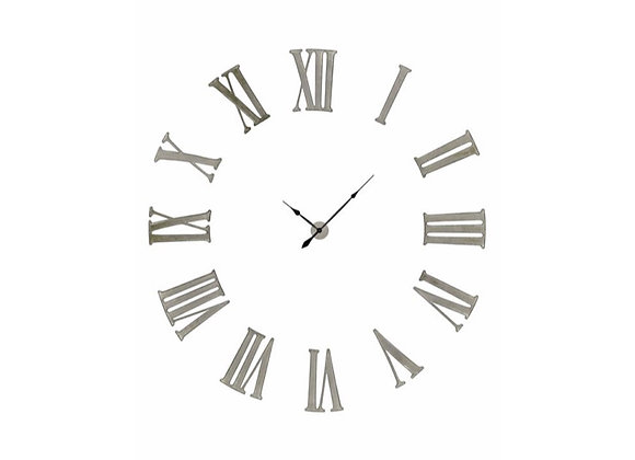 Funky Numeral Wall Clock | Gold or Silver