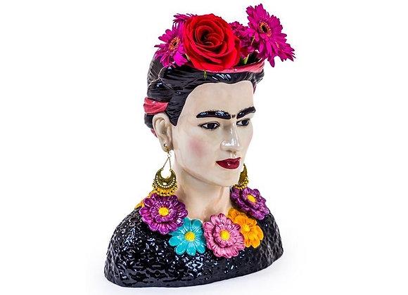 Ceramic Frida Kahlo Bust Vase