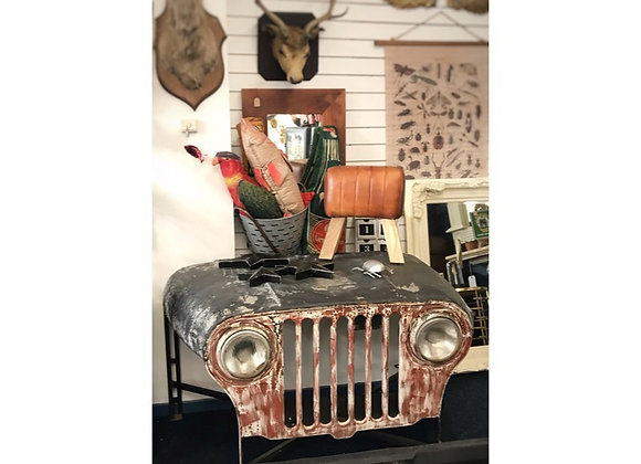 Upcycled Jeep Table