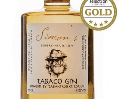Gold für Lorscher Tabaco Gin