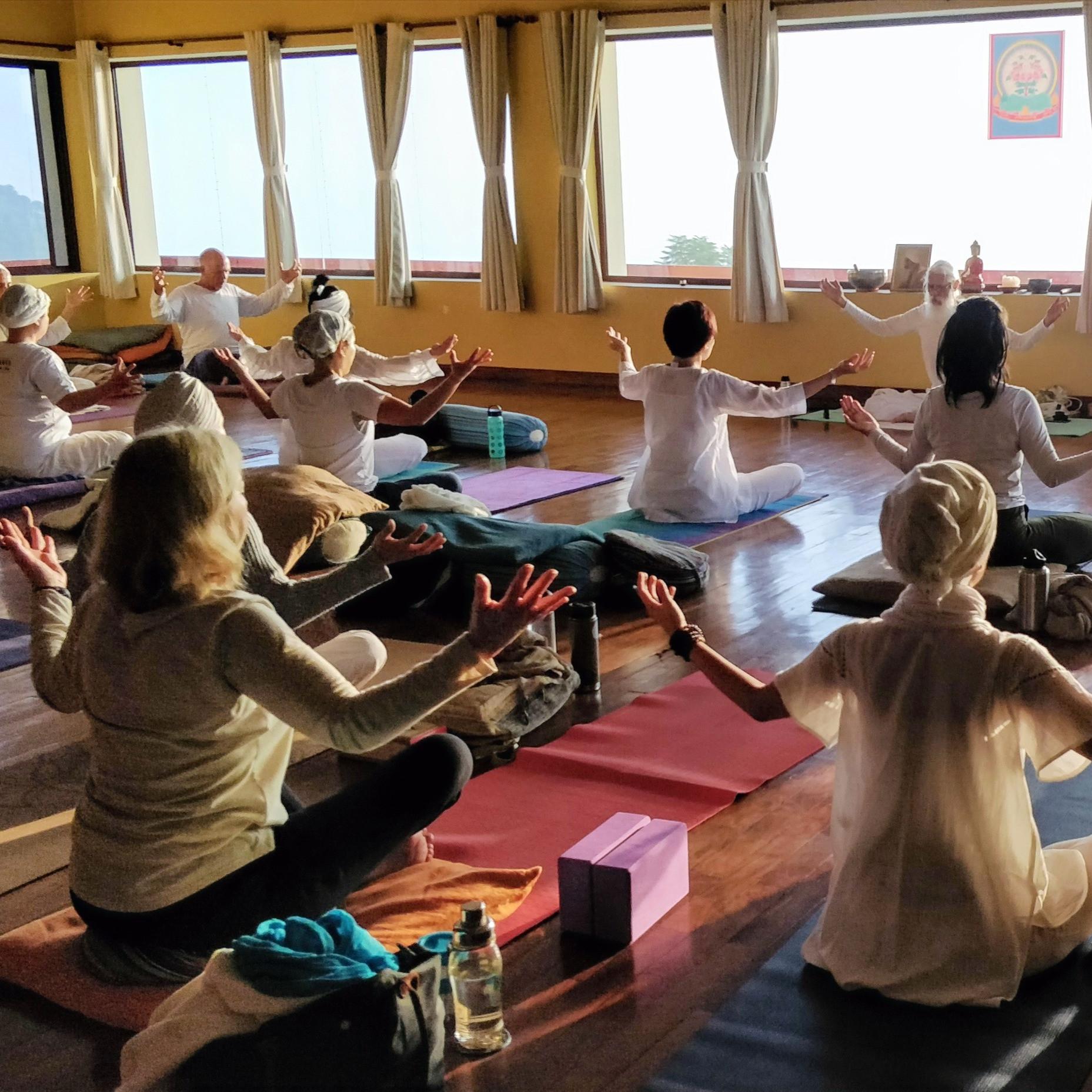 Kundalini Yoga Class With Tonie