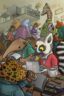 Animal Coffee Shop