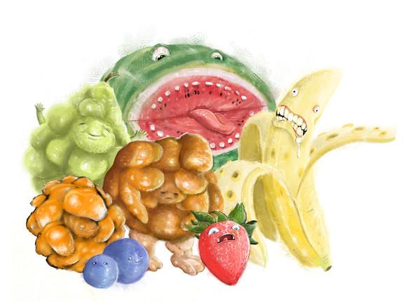 Mutant Fruits