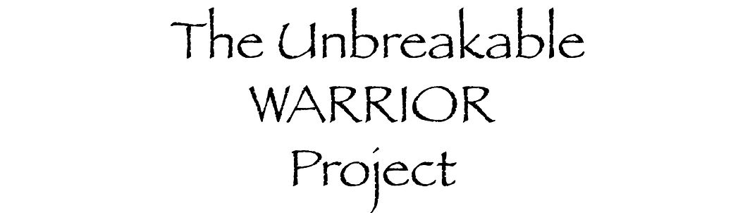 The Unbreakable Warrior Project.Title.jp