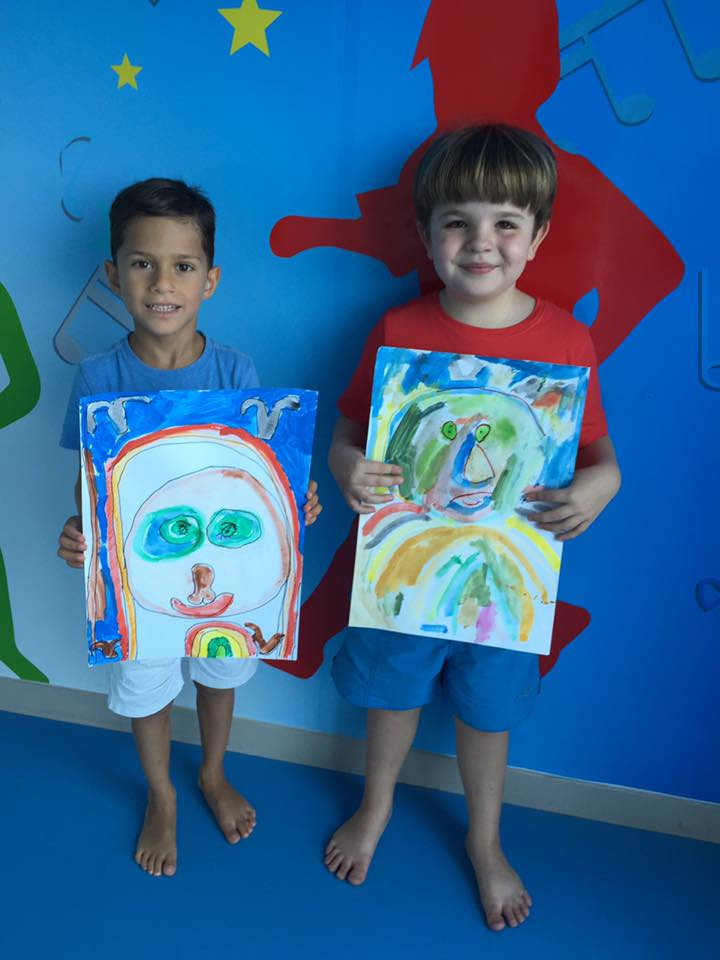 Cascade Learning Centre Self Portraits