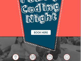 Limited numbers - Free Family Coding Night with Ding