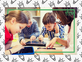 Ding coding - Another addition to the learning centre with a heart