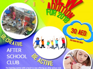 After School Club - join the learning centre with a heart