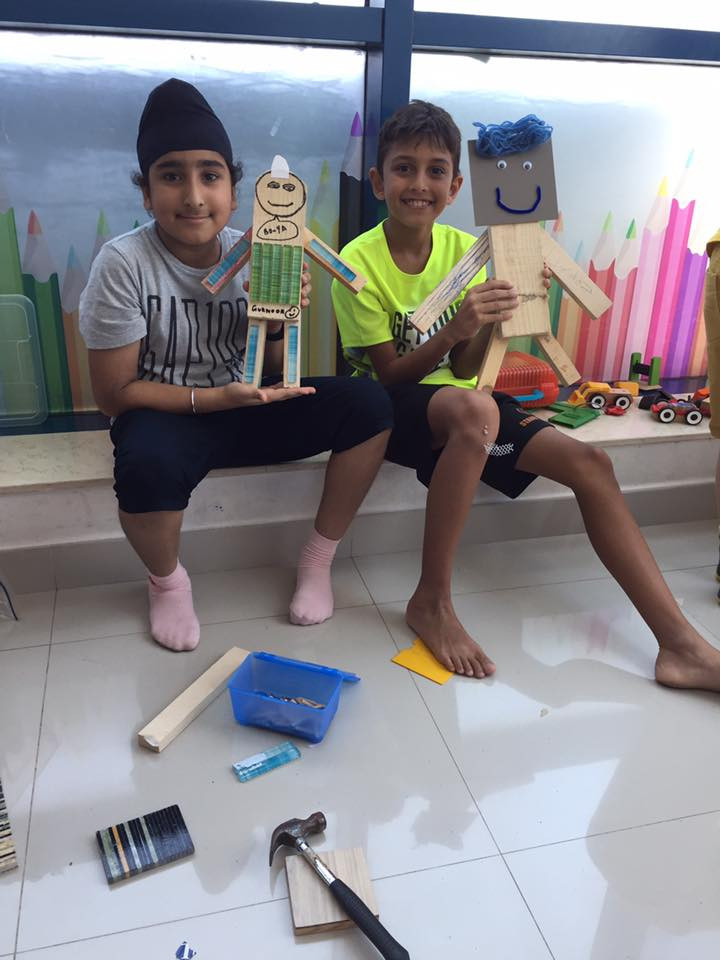 Makerspace:  Woodwork