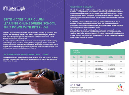 Imagine if you can online school affordably with accreditation - The answer is Interhigh