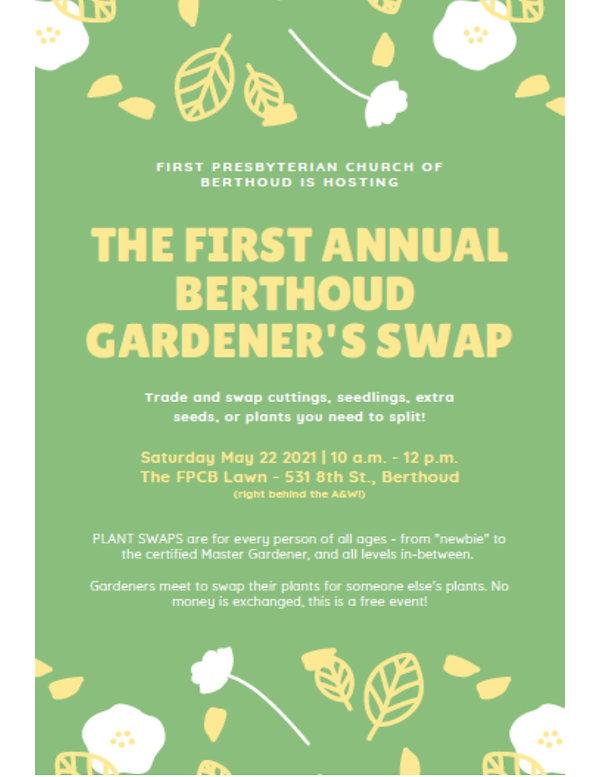 #1 FPCB Gardener's Swap - May 22, 2021.j