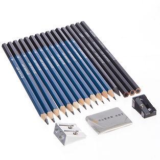 Clear Art - Art Set - Pencils & Tools