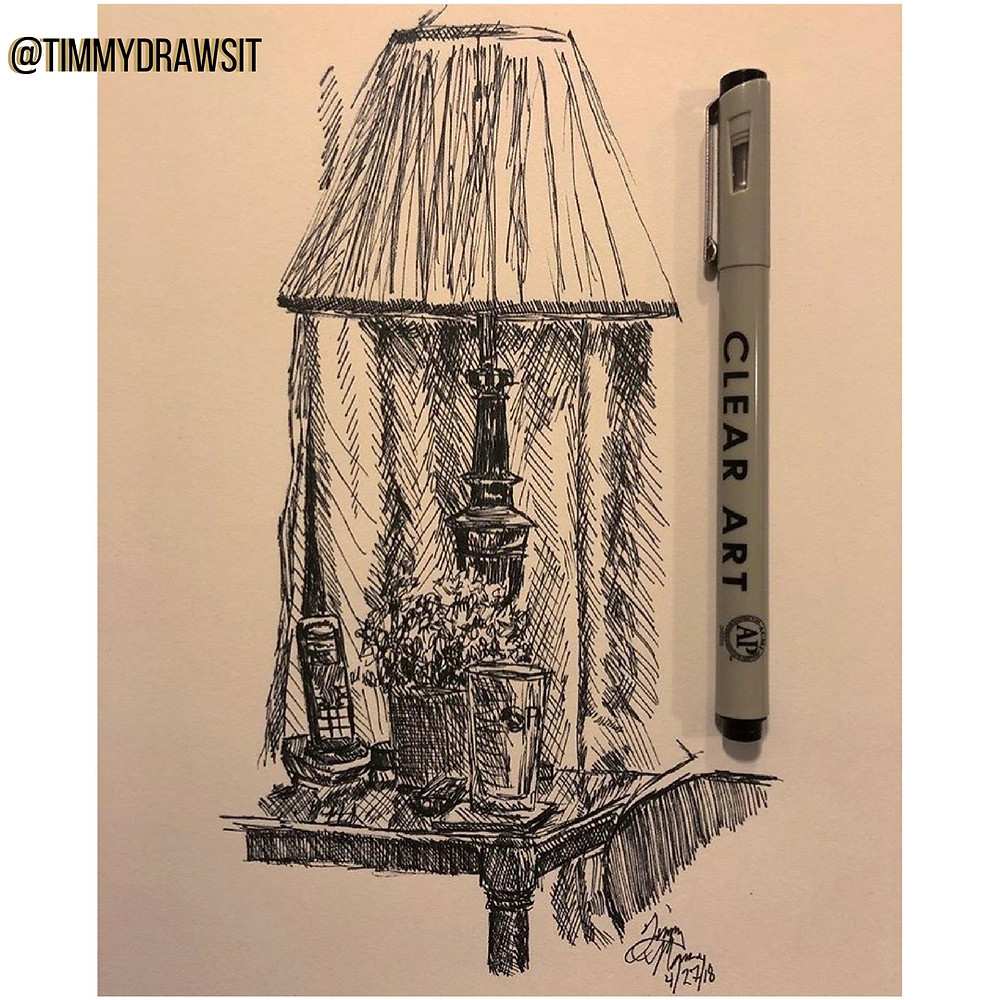 timmydrawsit Pen Sketch