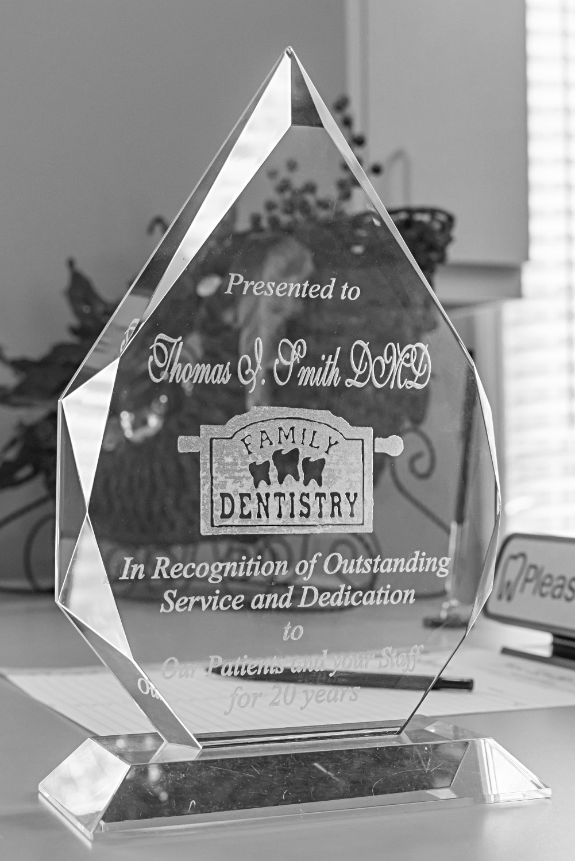 Thomas I Smith Dentist Award