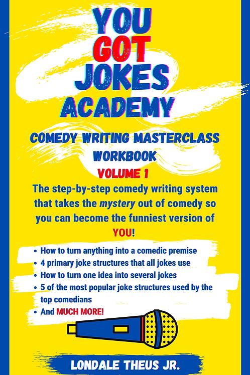 Comedy Writing Masterclass Workbook Vol. 1