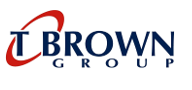 T BROWN LOGO