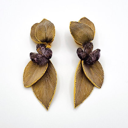 Boucles d'oreille Cilea 'Pomerol'