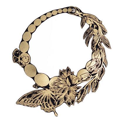 Collier Uli Rapp 'Floral Pearl' Choker