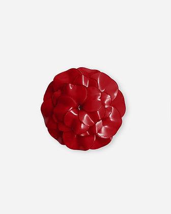 Broche Cilea 'Geranium' Rouge