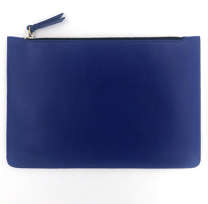 Pochette Michael Guérisse O'Leary 'XL Pouch' Bleu Klein