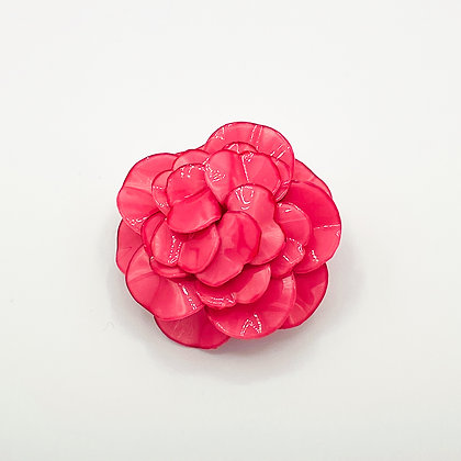 Broche Cilea 'Geranium' Rose