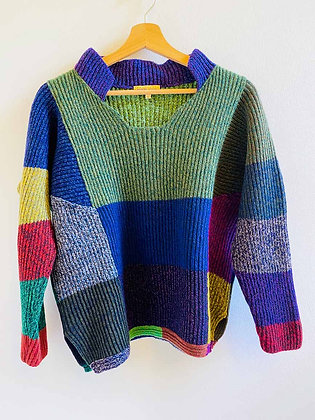 Pull Diane De Clercq 'Parlare' Multicolore