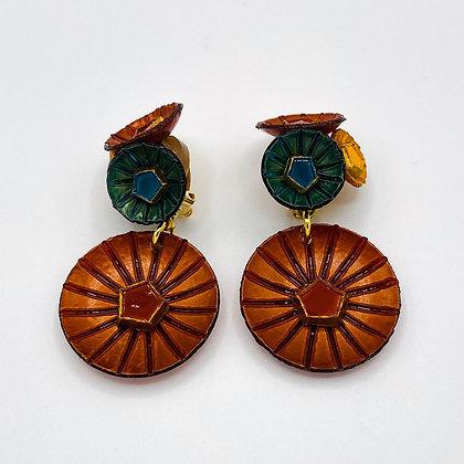 Boucles d'oreille Cilea 'Kyoto' Multicolores