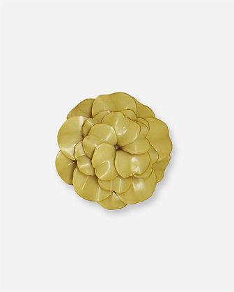 Broche Cilea 'Geranium' Ivoire