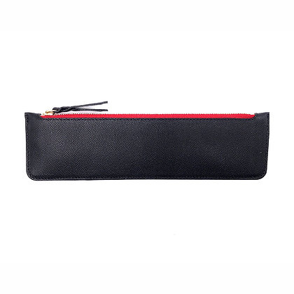 Plumier Michael Guérisse O'Leary Caviar zip rouge