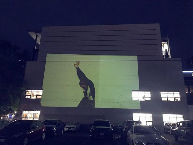projection installation project with _ro
