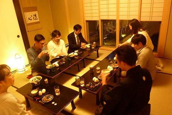 tea ceremony in hangetsu an