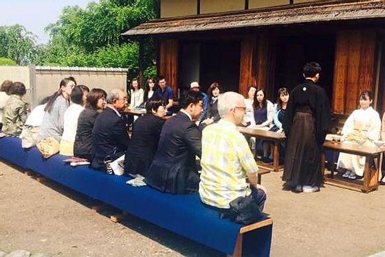tea ceremony in nagano